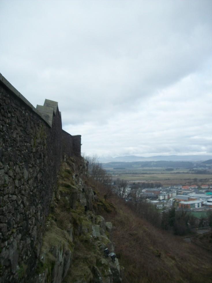 Stirling Castle Walls